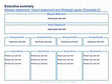 Simple Strategic Plan Template Strategic Plan Template Strategic Planning Template