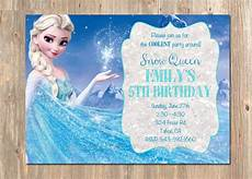 Frozen Birthday Invitations Printable Frozen Birthday Invitation Elsa Frozen Invitation Printable