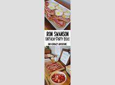 Ron Swanson Party Ideas: Birthday Dinner   Birthday