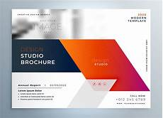 Front Page Design Template Abstract Business Brochure Presentation Leaflet Design