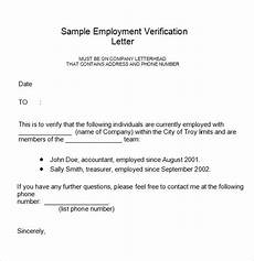 sample letter of employment verification template free 17 employment verification letter templates in pdf