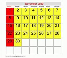 Calendar Month November 2020 November 2020 Roman Catholic Saints Calendar