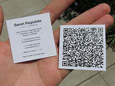Qrcode Business Cards 30 Creative Qr Code Business Cards Webdesigner Depot