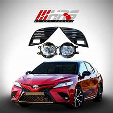 2018 Toyota Camry Hazard Lights Hrs 2018 19 Toyota Camry Led Fog Lights With Covers Hi