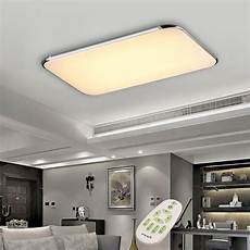 Ceiling Light With Remote 40w Led Ceiling Light Fixture Lamp Flush Mount Room