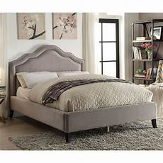 nspire upholstered platform bed reviews wayfair