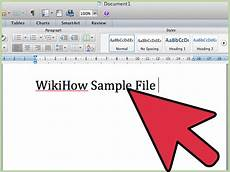 Microsoft Office Ward How To Use Microsoft Office Word 2007 9 Steps With Pictures
