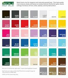 Wall Paint Chart Color Samples Vinyl For Wall Decals From Decals Murals
