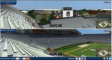 Tiger Stadium Seating Chart 3d Auburn Releases Website Featuring New 3d Seating Map Of