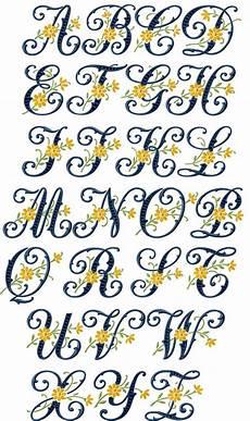 Letter Desings Floral Cutwork Alphabet