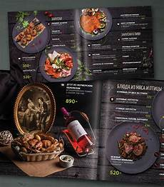 Menus Designs For Restaurants Design Menu For Restaurant Moscow On Behance
