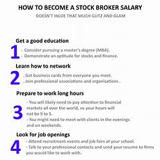 Stock Broker Salary How To Become A Stock Broker Salary Stock Broker Salary