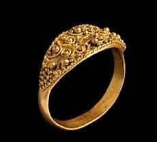 etruria oro anello etrusco in oro iv sec a c castone