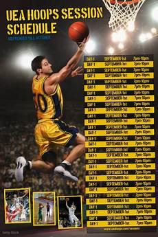 Free Basketball Schedule Maker Basketball Sports Team Schedule Template Postermywall