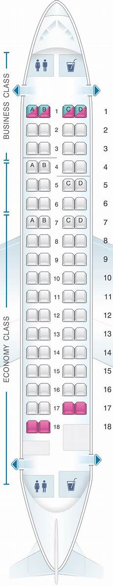 Lot Airlines Seating Chart Mapa De Asientos Lot Polish Airlines Embraer 170 Plano