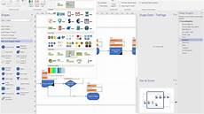 Create Visio Template Using Visio To Create A Flowchart From Excel And Update