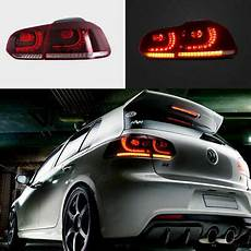 Vw Golf Gti Lights 10 14 Mk6 Vw Volkswagen Gti Full Led Golf R Style Vland
