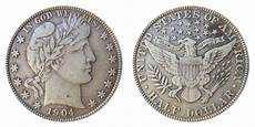 1902 Silver Dollar Value Chart 1904 Barber Half Dollars Value And Prices
