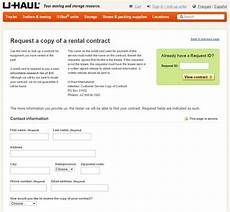 u haul receipt template s the way to get my rental receipt moving