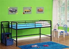 dorel junior loft bed with step storage colors