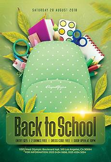 Back To School Flyer Templates Free Back To School Flyers Templates For Photoshop By