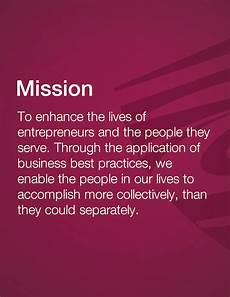 Mission Statement Sample How To Write A Mission Statement The Creative Entrepreneur