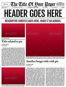 Office Newspaper Template Free 50 Amazing Newspaper Templates In Pdf Ppt Ms