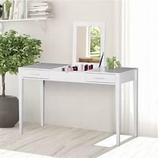 homcom 831 244 2 in 1 flip mirror storage dressing table