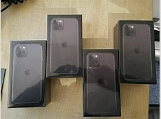 NEW Apple IPhone 11 Pro Max 256GB Space Gray Factory