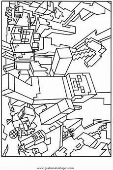 Malvorlagen Minecraft Creeper Minecraft Creeper 2 Gratis Malvorlage In Beliebt13
