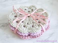 crochet coasters pattern free pattern and tutorial