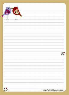 Letter Writing Paper Template Free Printable Writing Paper Stationery