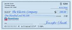 Filled Out Check How To Properly Write A Check Americhoice Federal Credit