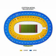 Cotton Bowl Seating Chart Rows Cotton Bowl Stadium Tickets Cotton Bowl Stadium Seating