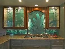 frosted glass backsplash in kitchen photos hgtv