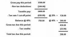 Us Payroll Tax Calculator Income Tax Paye Manual Calculations