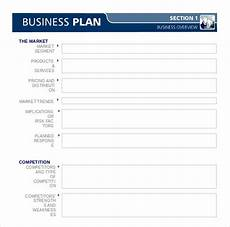 Crossfit Business Plan Template Business Plan Template 47 Examples In Word Free