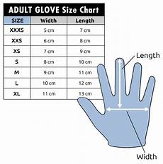 Us Glove Size Chart C Skins Wired 3mm Gloves