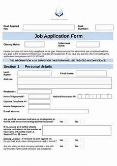 Company Application Form Job Application Form Template Edit Fill Sign Online