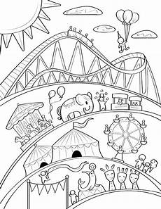 free printable carnival coloring page it at