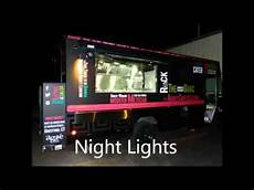 Outside Lighting For Mobile Food Truck Lighting Up Agave S Food Truck Youtube