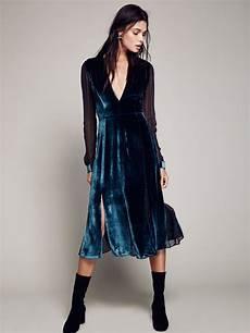 amelina velvet dress at free clothing boutique