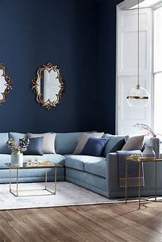 Living Room With Light Blue Sofa A Room Really Starts To Come Together When You Add The