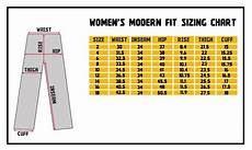 Waist Size Chart For Women S Jeans Draggin Jeans Sizing Chart