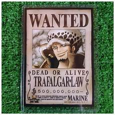One Piece Wanted Poster New Mugiwara Store Limited One Piece Wanted Poster