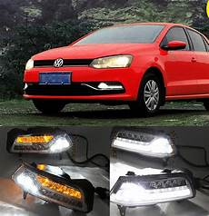 Volkswagen Polo Fog Lights Crazy Sales Auto Accessory Daylight Fog Lamp Cover Led