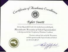 Academic Award Certificate Certificate Of Excellence Award Certificate Of Excellence