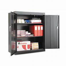 alera assembled 42 quot high storage cabinet w adjustable