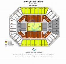 Iowa Basketball Seating Chart Iowa State Cyclones Tickets College Basketball Big 12