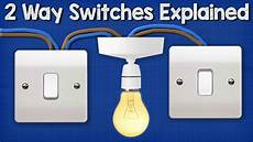 Two Switch Light Switch Two Way Switching Explained How To Wire 2 Way Light Switch